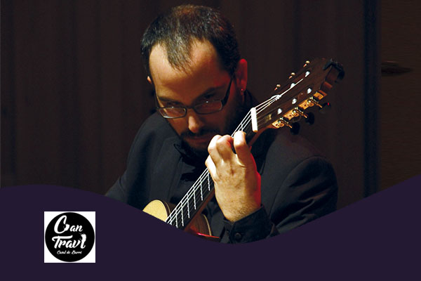 Thursday, October 11, 8:00 p.m. | JUAN ALMADA – A-cordes de guitarra | Saló d'Art Miquel Llobet Casal Can Travi – BARCELONA