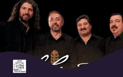 Dissabte, 13 octubre, 19.00h | EL CUARTETO, GUITARRAS DEL URUGUAY – A-cordes de guitarra | Casal de la Font d'en Fargues – BARCELONA