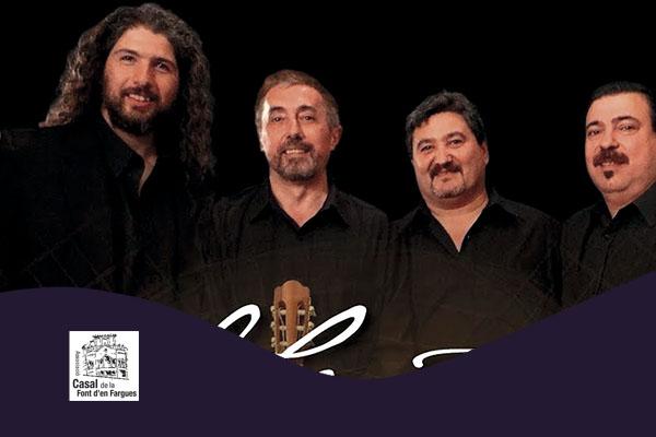 Sábado, 13 octubre, 19:00h | EL CUARTETO, GUITARRAS DEL URUGUAY – A-cordes de guitarra | Casal de la Font d'en Fargues – BARCELONA