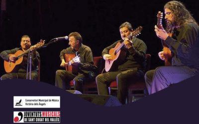 Diumenge, 14 octubre, 19.00h | EL CUARTETO, GUITARRAS DEL URUGUAY – A-cordes de guitarra | Auditori Escola de Música Victòria dels Àngels – SANT CUGAT DEL VALLÈS