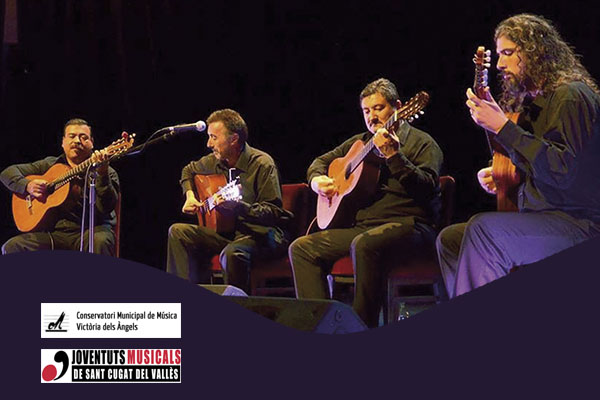Domingo, 14 octubre, 19:00h | EL CUARTETO, GUITARRAS DEL URUGUAY – A-cordes de guitarra | Auditori Escola de Música Victòria dels Àngels – SANT CUGAT DEL VALLÈS