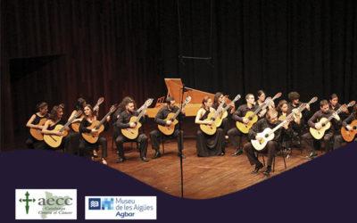 Divendres, 19 octubre, 20.00h | ORQUESTRA DE GUITARRES DE BARCELONA – Concert solidari AECC | Museu AGBAR de les Aigües – CORNELLÀ DE LLOBREGAT
