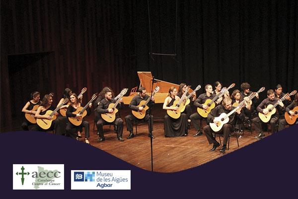 Viernes, 19 octubre, 20:00h | ORQUESTRA DE GUITARRES DE BARCELONA – Concierto solidario AECC | Museu AGBAR de les Aigües – CORNELLÀ DE LLOBREGAT