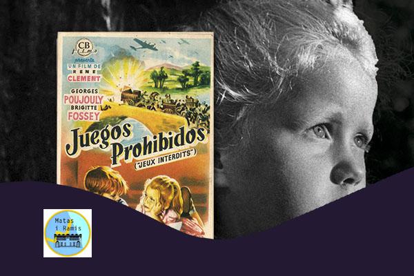 Sábado, 20 octubre, 11:30h | JUEGOS PROHIBIDOS – Cine y Guitarra | Centre Cívic Matas i Ramis – BARCELONA