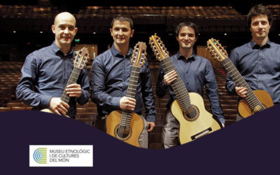 Saturday, October 20, 7:00 p.m. | IN CRESCENDO, cuarteto de guitarras – A-cordes de guitarra | Museu Etnològic i Cultures del Món – BARCELONA