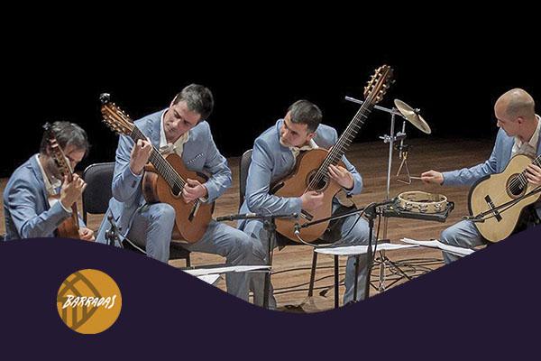 Domingo, 21 octubre, 19:00h | IN CRESCENDO – A-cordes de guitarra | Auditori Barradas – HOSPITALET DE LLOBREGAT
