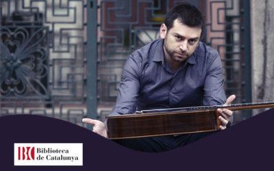 Dilluns, 22 octubre, 20.30h | JOSÉ ANTONIO ESCOBAR – A-cordes de guitarra | Biblioteca de Catalunya – BARCELONA