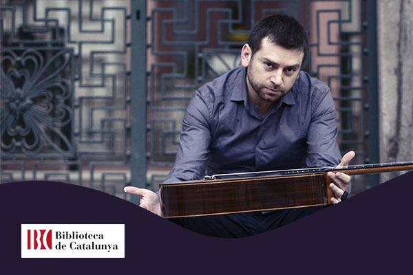 Lunes, 22 octubre, 20:30h | JOSÉ ANTONIO ESCOBAR – A-cordes de guitarra | Biblioteca de Catalunya – BARCELONA