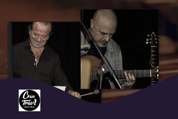 Jueves, 25 octubre, 20:00h | VIDAL-PEREIRA – Singulares con guitarra | Saló d'Art Miquel Llobet Casal Can Travi – BARCELONA