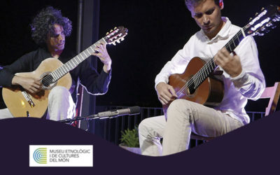 Saturday, November 3, 7:00 p.m. | PYROPHORUS GUITAR DUO – A-cordes de guitarra | Museu Etnològic i Cultures del Món – BARCELONA