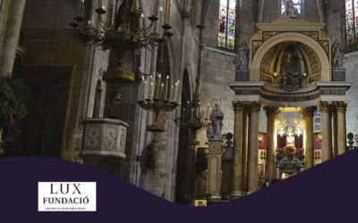 Diumenge, 4 novembre, 19.00h | MARIA ALTADILL I SANTI MIRÓN – LUX FUNDACIÓ – Concert a la Basílica | Basílica dels Sants Màrtirs Just i Pastor – BARCELONA