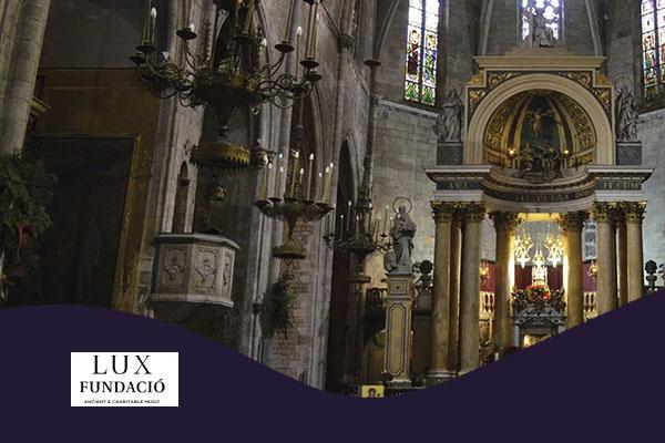 Diumenge, 4 novembre, 19:00h | MARIA ALTADILL I SANTI MIRÓN – LUX FUNDACIÓ – Concert a la Basílica | Basílica dels Sants Màrtirs Just i Pastor – BARCELONA