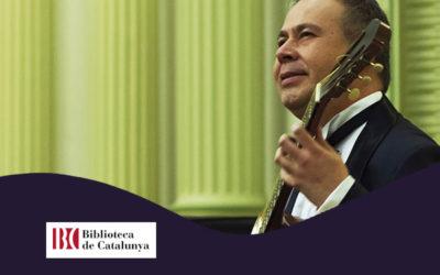 Dilluns, 5 novembre, 20.30h | ROMILIO ORELLANA – A-cordes de guitarra | Biblioteca de Catalunya – BARCELONA