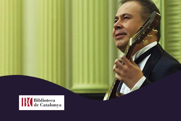 Dilluns, 5 novembre, 20:30h | ROMILIO ORELLANA – A-cordes de guitarra | Biblioteca de Catalunya – BARCELONA