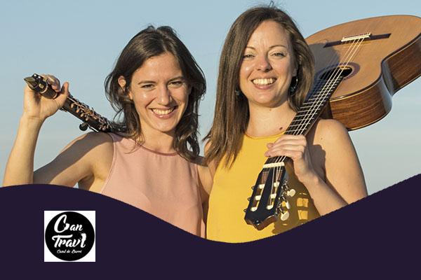 Dijous, 8 novembre, 20:00h | BAJUS DUO – Singulars amb guitarra | Saló d'Art Miquel Llobet Casal Can Travi – BARCELONA