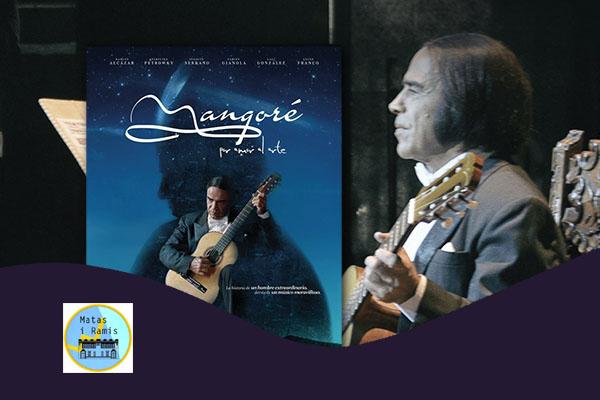 Saturday, November 10, 11:30 a.m. | MANGORÉ, POR AMOR DEL ARTE – Cinema & Guitar | Center Cívic Matas i Ramis – BARCELONA