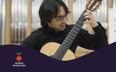 Dissabte, 10 novembre, 19.00h | LUIS ALEJANDRO GARCÍA – Premi del Públic Certamen Llobet 2017 | Auditori Municipal – MONTCADA I REIXAC