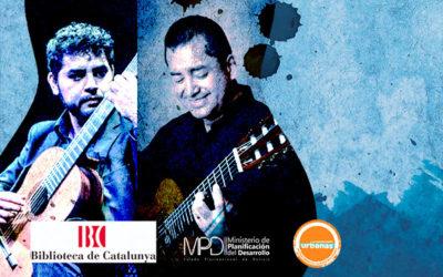 Dilluns, 21 octubre, 20:30h | ABEL GARCÍA-AYALA / MARCOS PUÑA – Present i futur de la Guitarra I | Biblioteca de Catalunya – BARCELONA