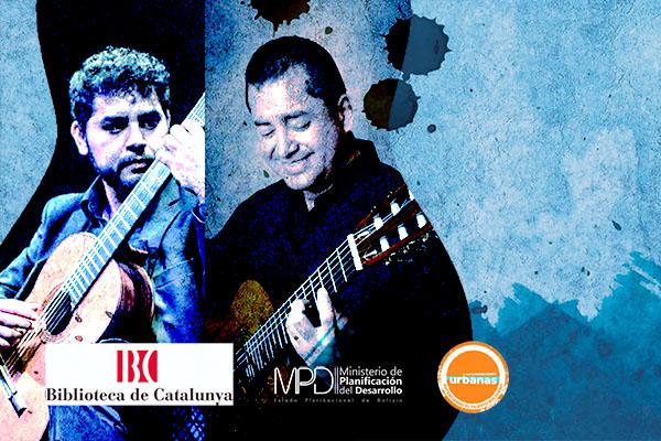 Monday, October 21, 20:30h   ABEL GARCÍA-AYALA / MARCOS PUÑA – Present and future of Guitar I   Biblioteca de Catalunya – BARCELONA