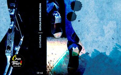 Dijous, 24 octubre, 19:30h | 12×6 GUITARRA L'ESCOLA DE BARCELONA – Homenatge Fernando Alonso | Saló d'Art Miquel Llobet Casal Can Travi – BARCELONA