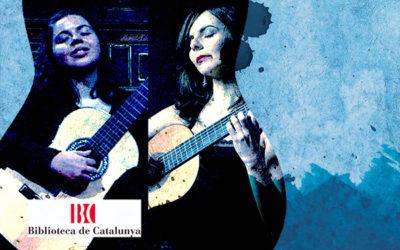 Monday, October 28, 20:30h | BRUNA ESCOLÀ / SANJA PLOHL – Present and future of Guitar II | Biblioteca de Catalunya – BARCELONA