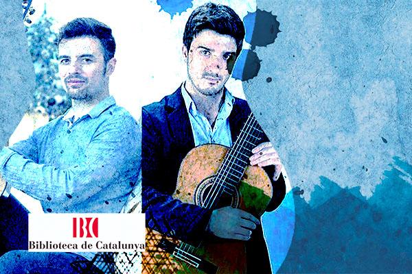 Dilluns, 4 novembre, 20:30h | DOMENICO MOTTOLA / IZAN RUBIO – Present i futur de la Guitarra III | Biblioteca de Catalunya – BARCELONA