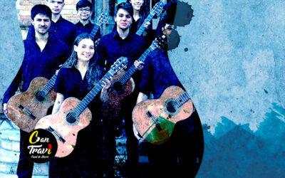 Dissabte, 9 novembre, 18:30h | ENSEMBLE DE GUITARRES DEL GIRONÈS – Danza de las hachas | Saló d'Art Miquel Llobet Casal Can Travi – BARCELONA