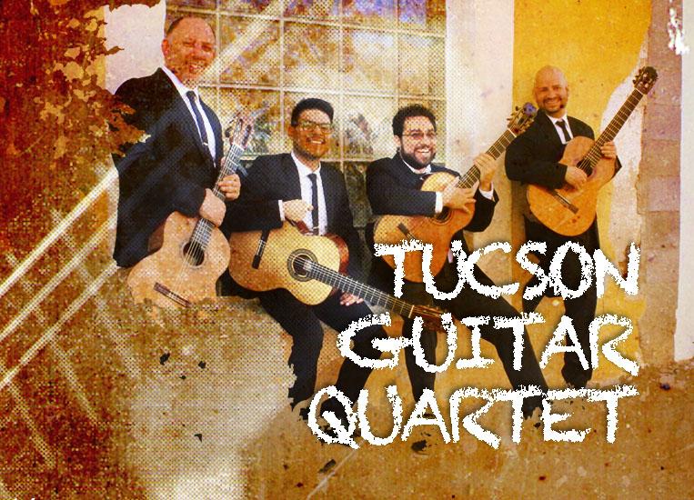 Lunes, 19 de octubre, 20:00h | TUCSON GUITAR SOCIETY | Tucson Guitar Quartet (USA) | José Luis Puerta, Michael Nigro, George Ramírez y Alfredo Vázquez