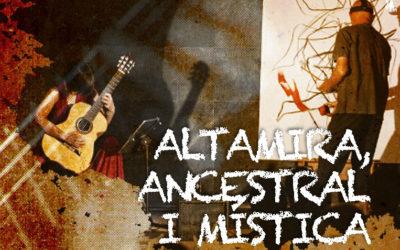 Dissabte, 24 d'octubre, 20.00h | ALTAMIRA, ANCESTRAL I MÍSTICA | Silvia Nogales (guitarra) & Josep María Rius – JOMA (pintura)