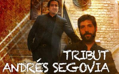 Tuesday, October 27, 8.00 p.m. | ANDRÉS SEGOVIA TRIBUTE | Pianoforte duo (Juan R. Arceo, guitar & Carlos Picón, piano)