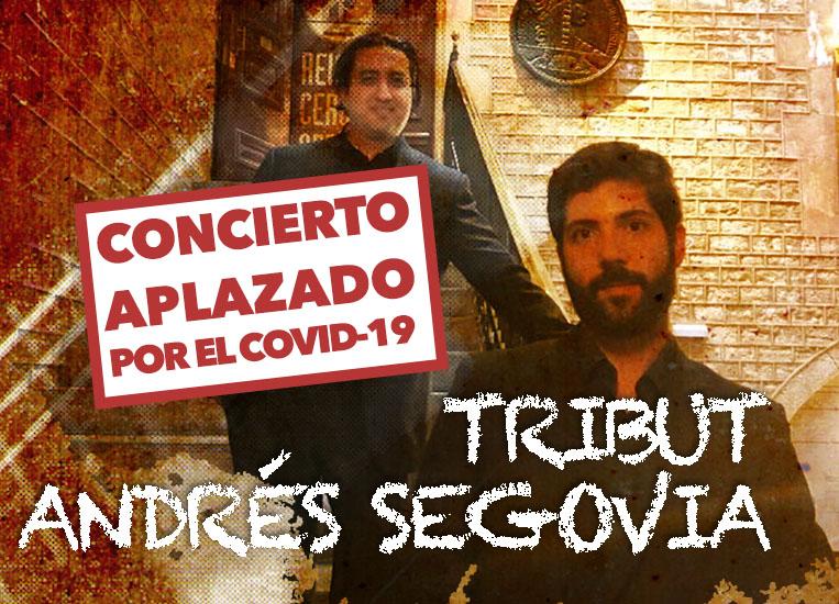 Martes, 27 de octubre, 20:00h | TRIBUTO ANDRÉS SEGOVIA | Pianoforte duo (Juan R. Arceo, guitarra & Carlos Picón, piano)
