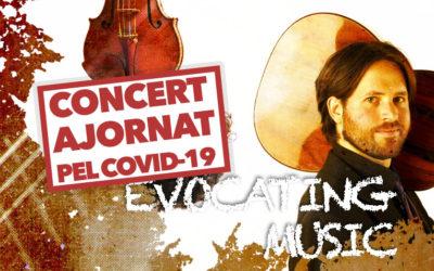Dijous, 5 de novembre, 20.00h | MÚSICA EVOCADORA | Jacob Cordober (guitarra) & César Aristides Mateos (violí)