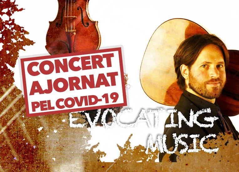 Dijous, 5 de novembre, 20.00h   MÚSICA EVOCADORA   Jacob Cordober (guitarra) & César Aristides Mateos (violí)