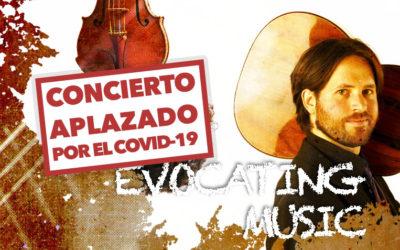 Jueves, 5 de noviembre, 20:00h   MÚSICA EVOCADORA   Jacob Cordober (guitarra) & César Aristides Mateos (violín)