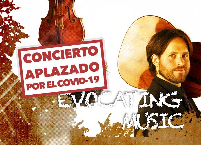 Jueves, 5 de noviembre, 20:00h | MÚSICA EVOCADORA | Jacob Cordober (guitarra) & César Aristides Mateos (violín)