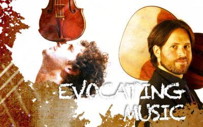 Thursday, November 5, 8:00 p.m. | EVOCATING MUSIC | Jacob Cordober (guitar) & César Aristides Mateos (violin)