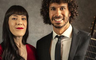 Viernes, 29 de octubre, 19:00h   Centre Cívic Fort Pienc   PAISAJES DE LATINOAMÉRICA   Duo Aramai: Adriana Aranda (soprano) y Simón Maisano (guitarra)