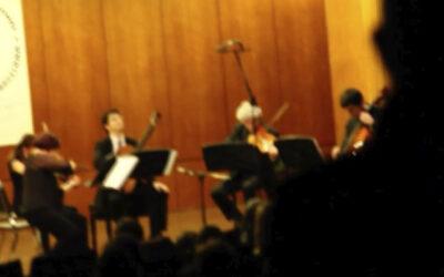Domingo, 7 de noviembre, 19:00h   Conservatori Municipal de Música de Barcelona   FINAL DEL CERTAMEN LLOBET 2021   Finalistas + Cuarteto de la Orquesta de Cámara Terrassa 48