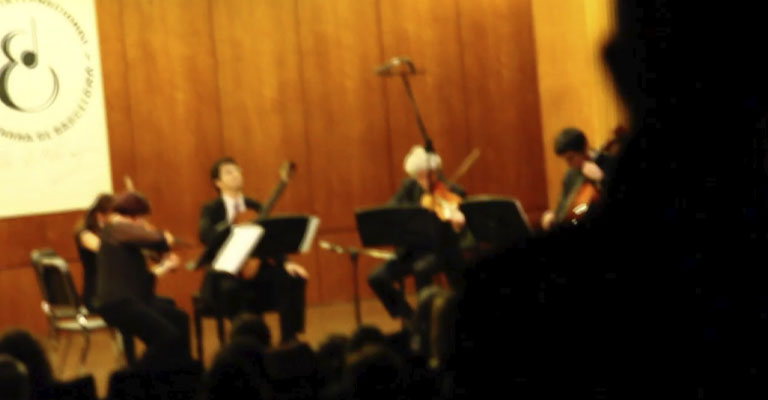 Sunday, November 7, 7:00 p.m. | Municipal Conservatory of Music of Barcelona | 2021 LLOBET COMPETITION FINAL | Finalists + Quartet of the Terrassa 48 Chamber Orchestra