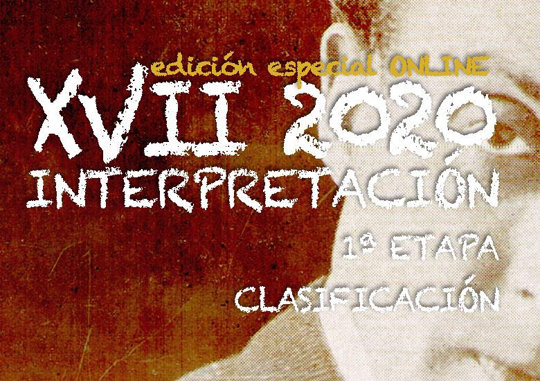 Del 4 al 12 de octubre | CERTAMEN LLOBET 2020 | Clasificación