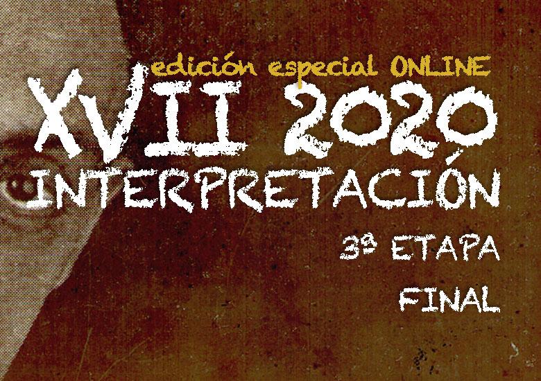 Del 1 al 8 de noviembre | CERTAMEN LLOBET 2020 | Final