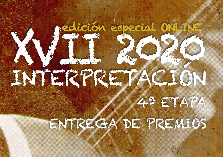 Domingo, 8 de noviembre, 21:00h | CERTAMEN LLOBET 2020 | Entrega de premios