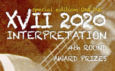 Sunday, November 8, 9:00 p.m. | CERTAMEN LLOBET 2020 | Award prizes