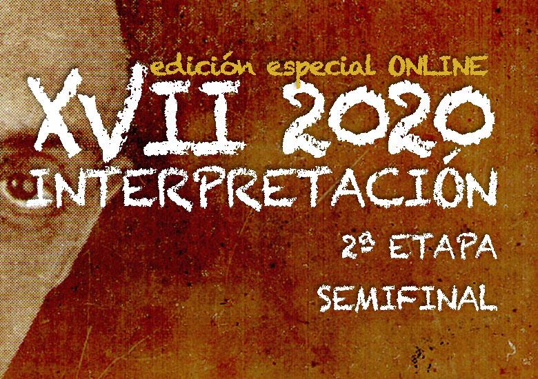 Del 18 al 26 de octubre | CERTAMEN LLOBET 2020 | Semifinal