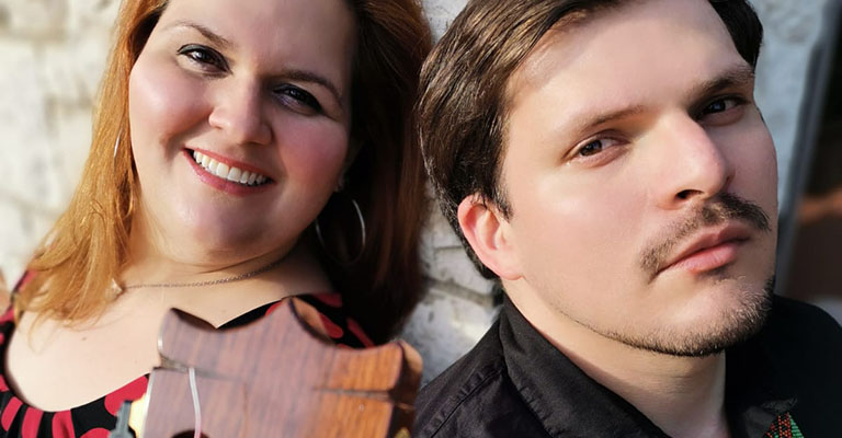Dissabte, 29 de maig, 12h | CONTES I MÚSICA LLATINOAMERICANA | Duo Serendipia – Sara Beatriz García (Soprano) & Sebastián Villanueva (guitarra)