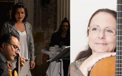 Dissabte, 27 de febrer, 12h | CONCERT PER A L'ÀNIMA | Inés Moraleda (mezzosoprano) & Raúl Sandin (guitarra)