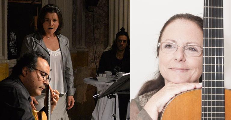 Sábado, 27 de febrero, 12h | CONCIERTO PARA EL ALMA | Inés Moraleda (mezzosoprano) & Raúl Sandin (guitarra)